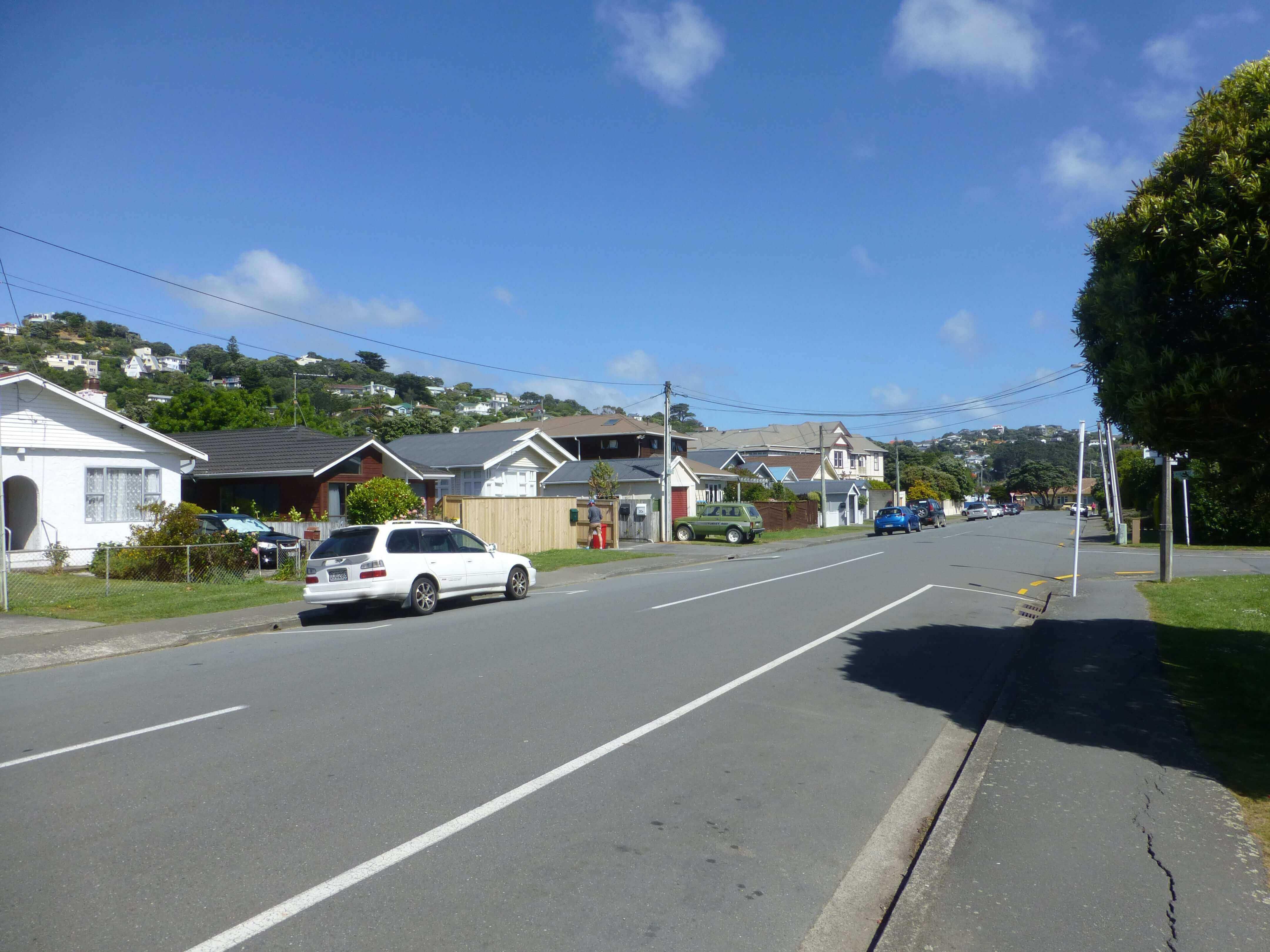 Wellington, in Miramar auf dem Weg zum Weta Shop, Weit-weg.reisen 11
