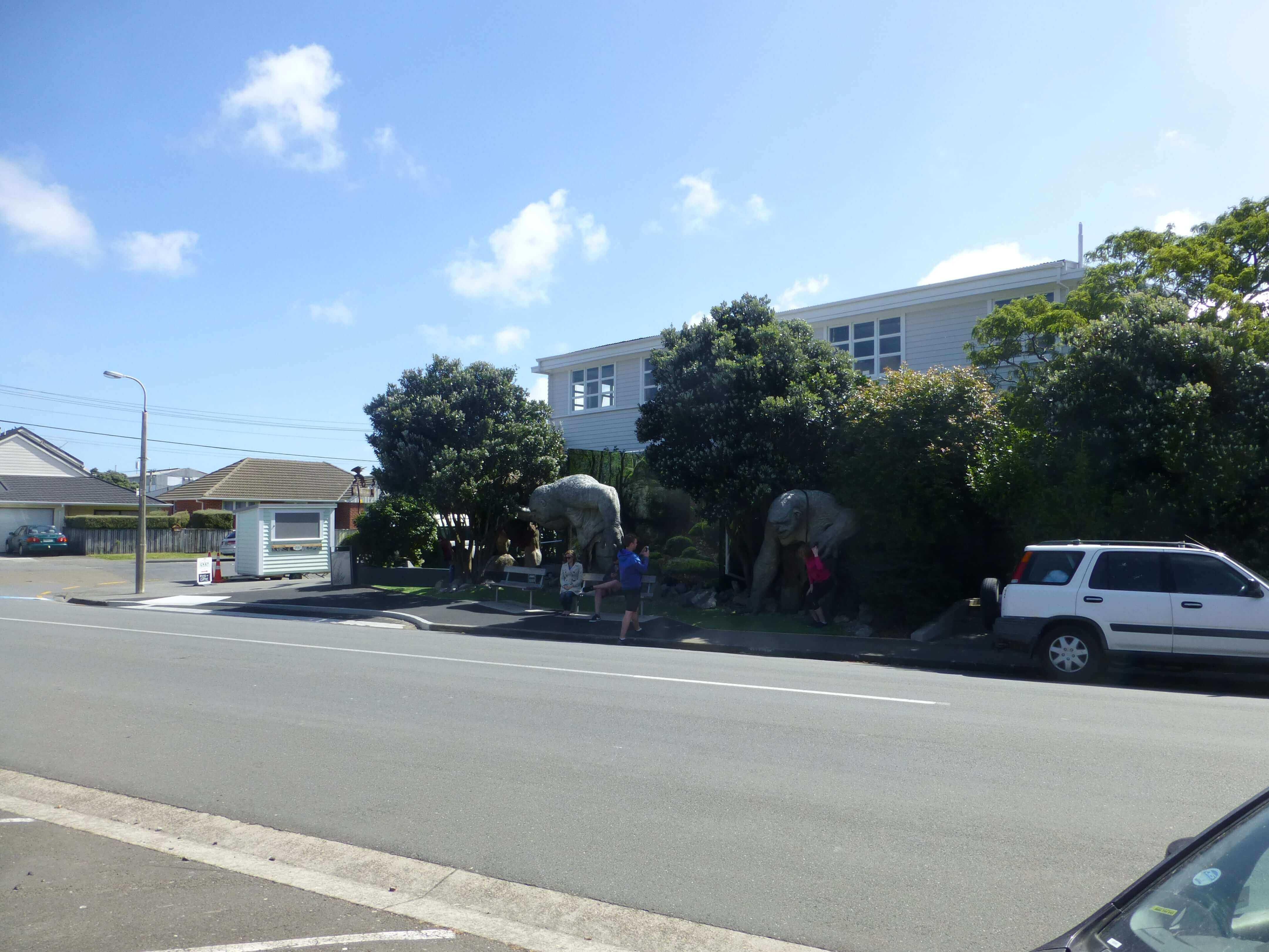 Wellington, in Miramar auf dem Weg zum Weta Shop, Weit-weg.reisen 2