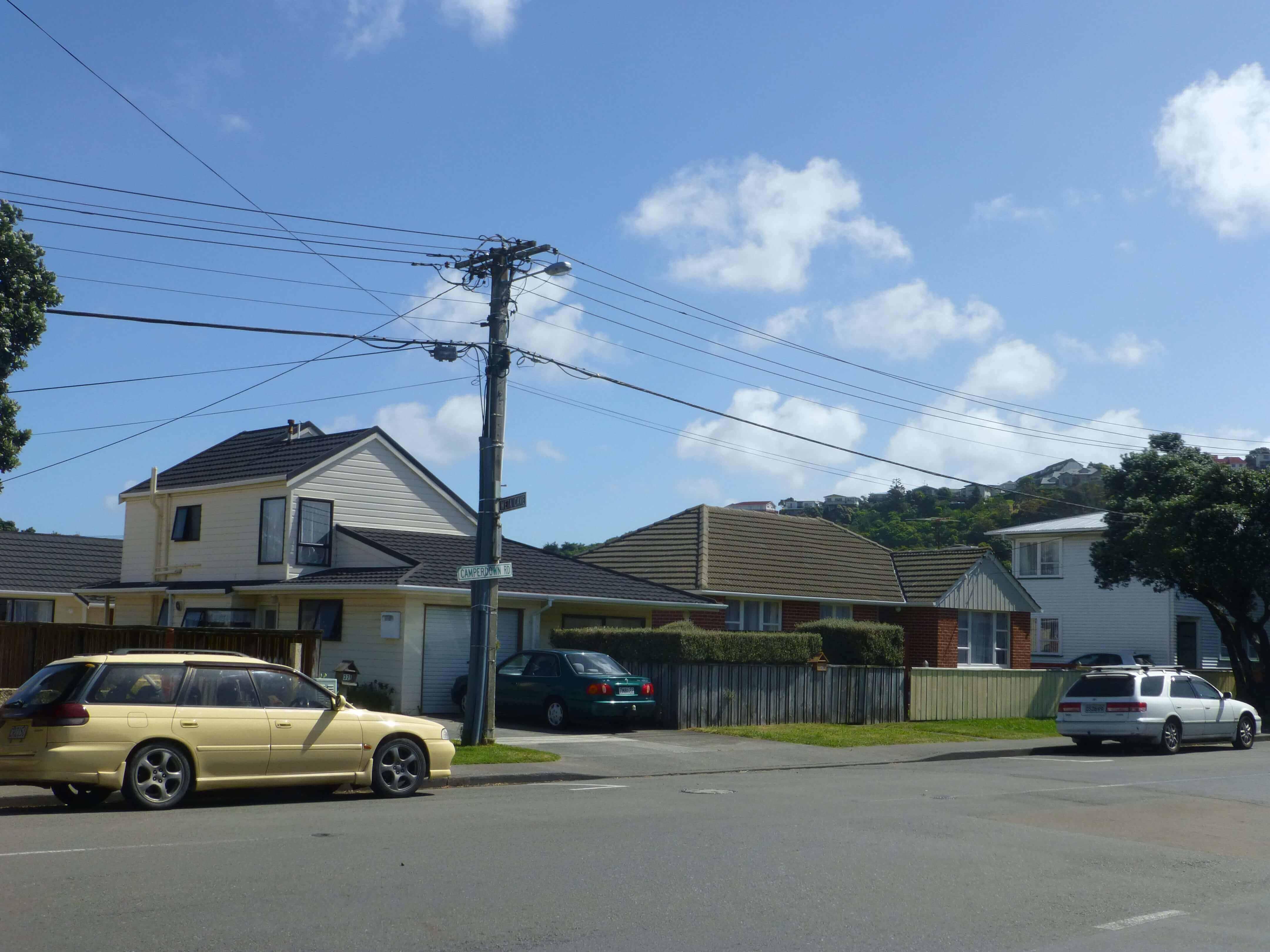 Wellington, in Miramar auf dem Weg zum Weta Shop, Weit-weg.reisen 4