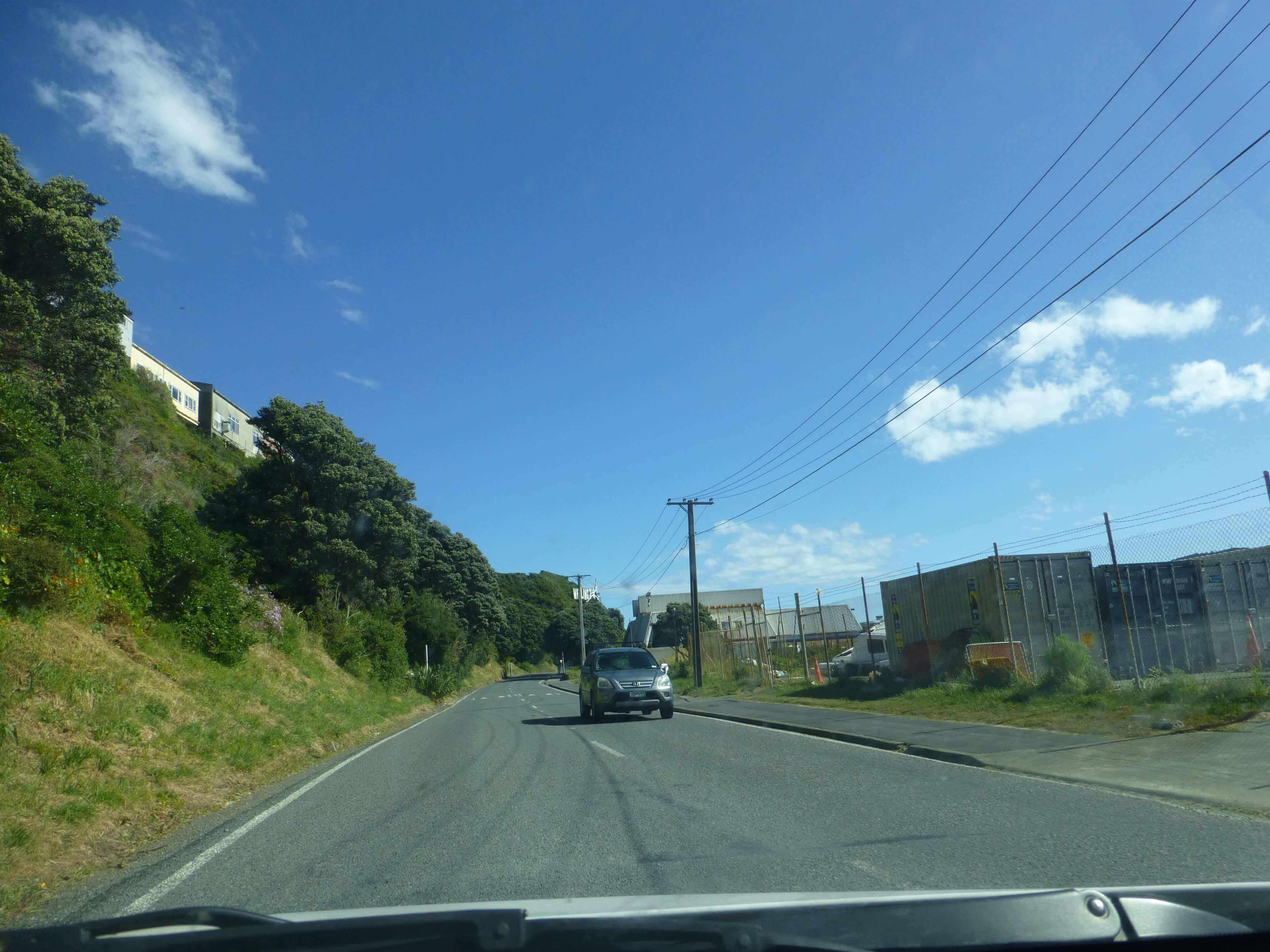 Wellington, in Miramar auf dem Weg zum Weta Shop, Weit-weg.reisen 6