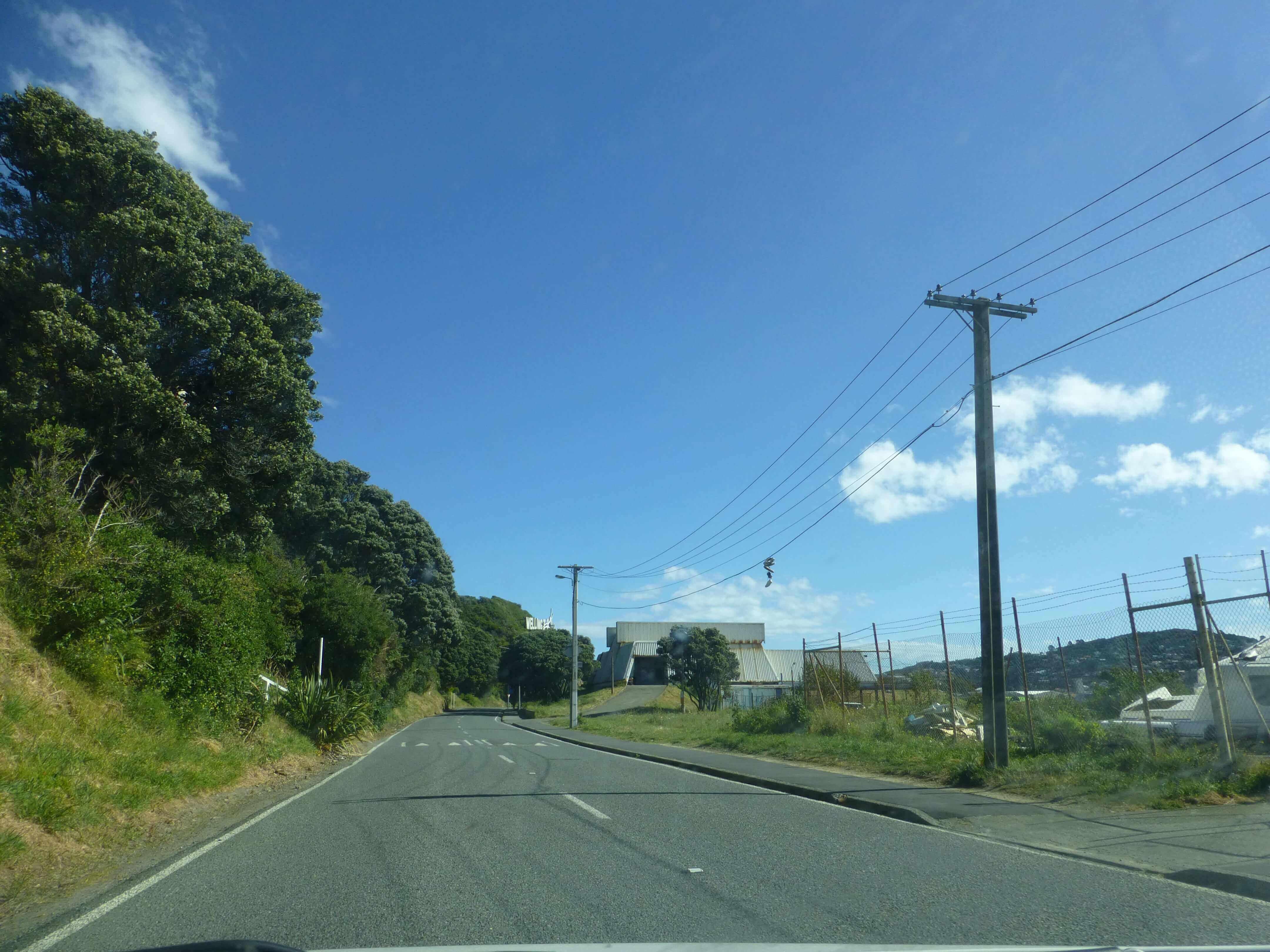 Wellington, in Miramar auf dem Weg zum Weta Shop, Weit-weg.reisen 8