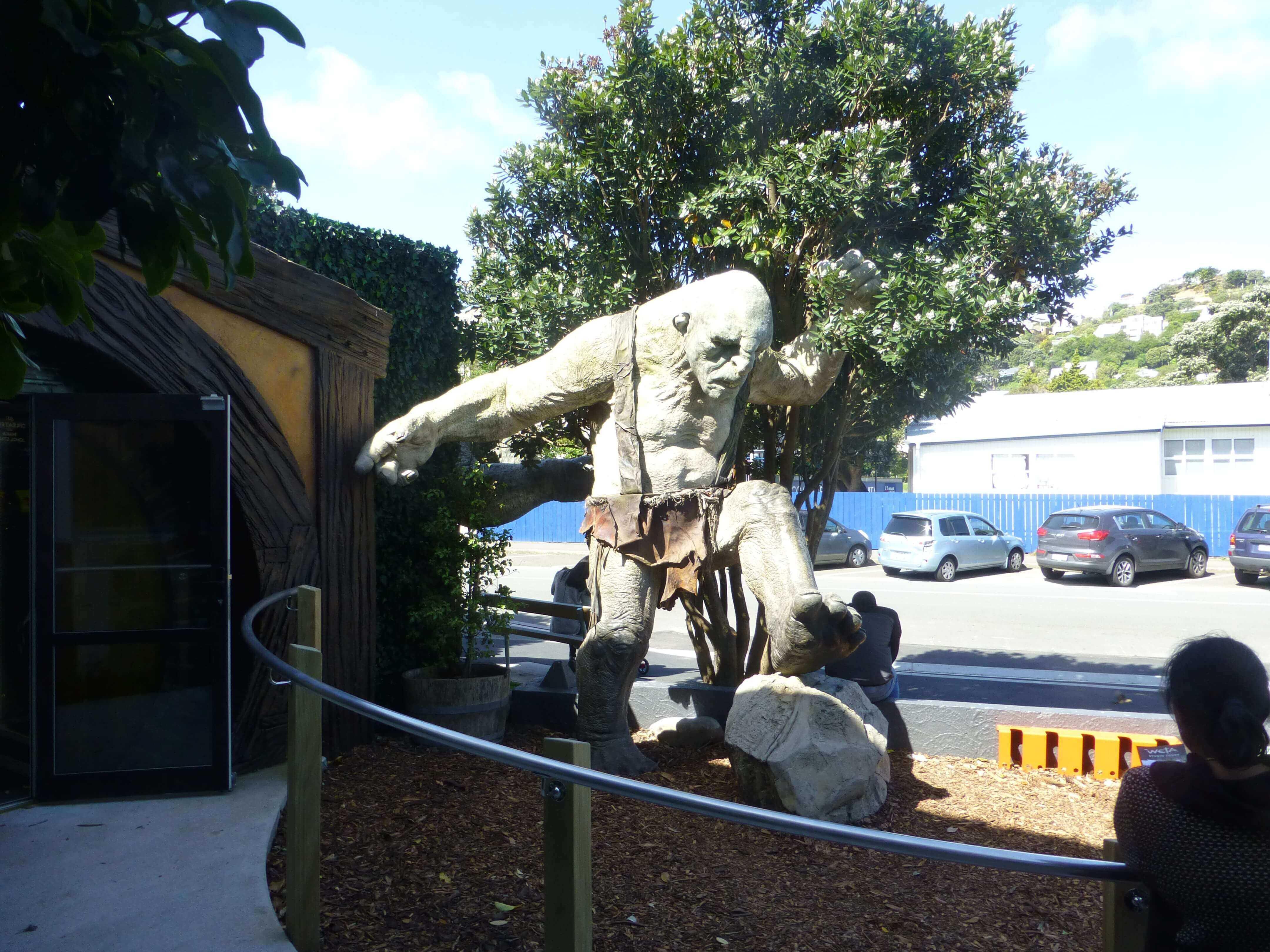 Wellington, vor dem Weta Shop, Weit-weg.reisen 10