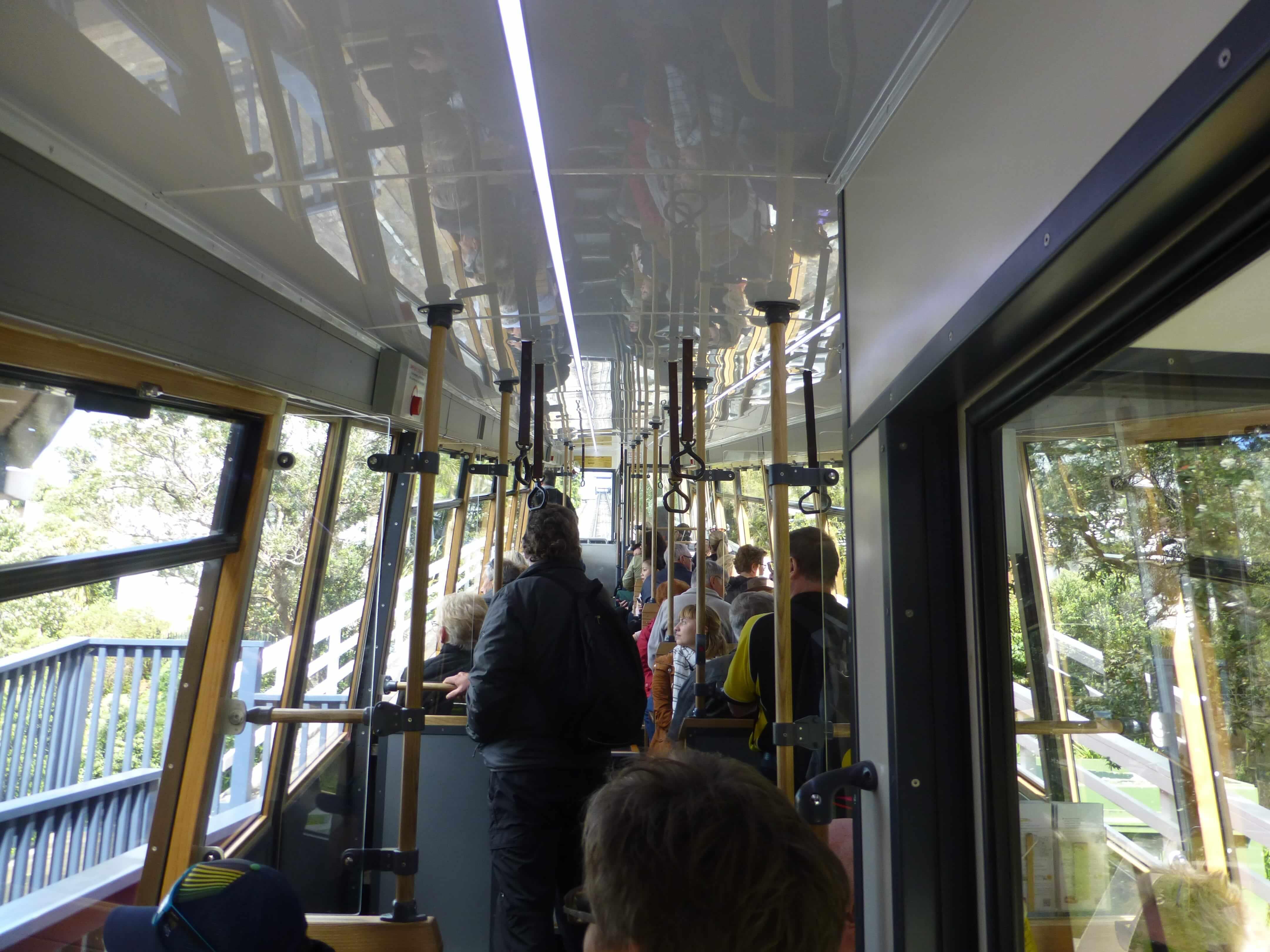 in Wellington in der Cable Car, Weit-weg.reisen 10