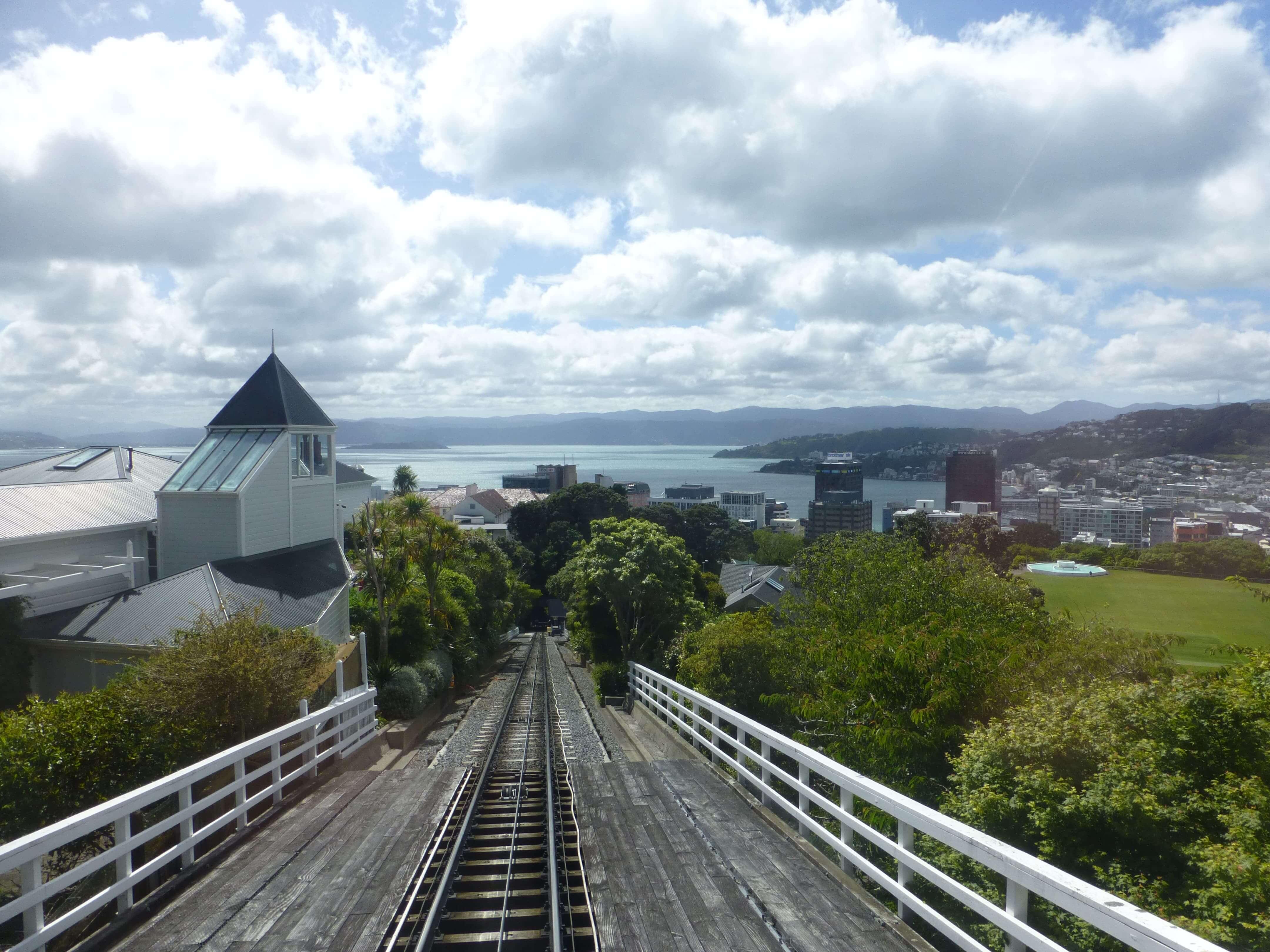 in Wellington in der Cable Car, Weit-weg.reisen 12