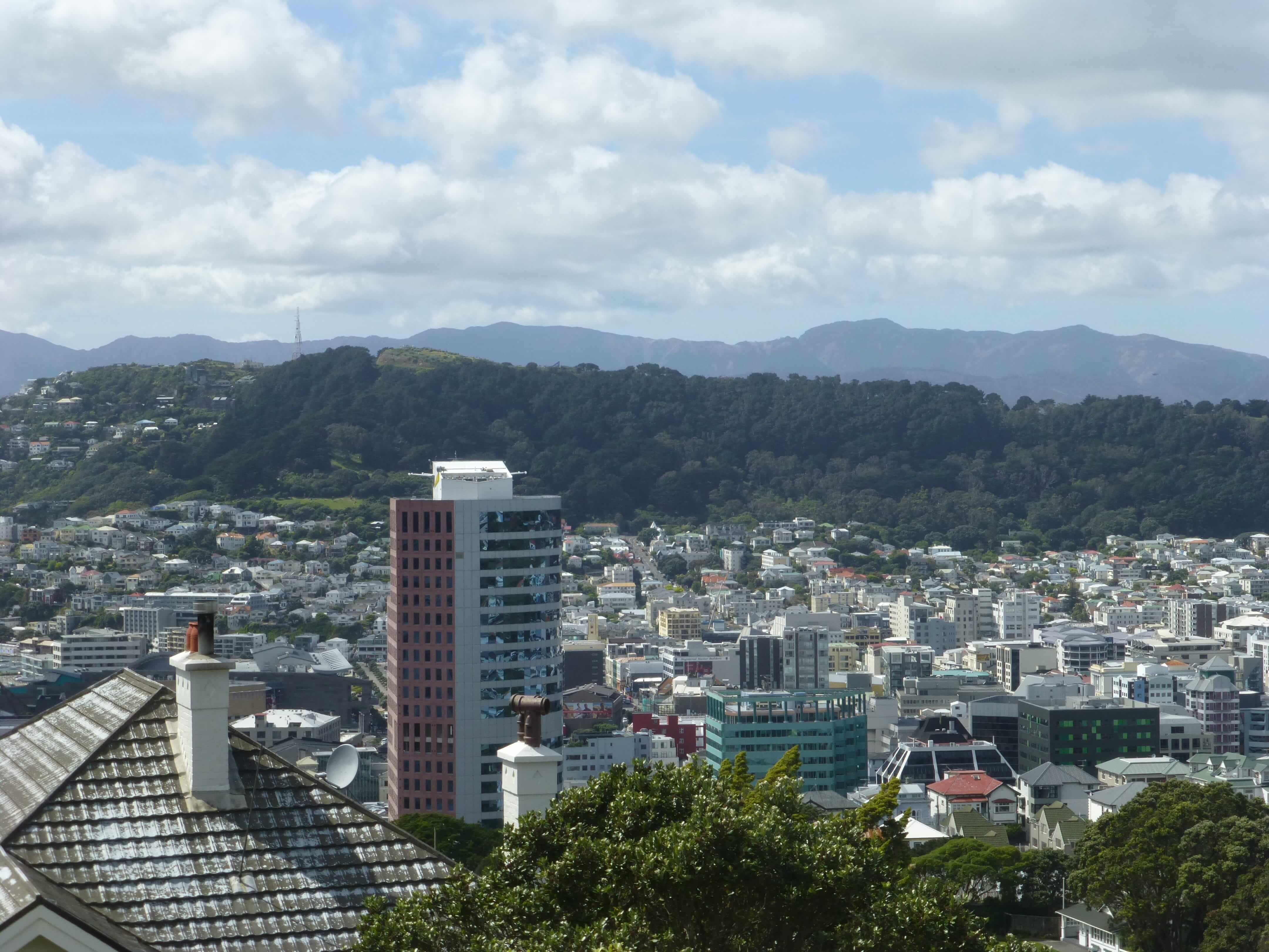 in Wellington an der Cable Car Station, Weit-weg.reisen 15