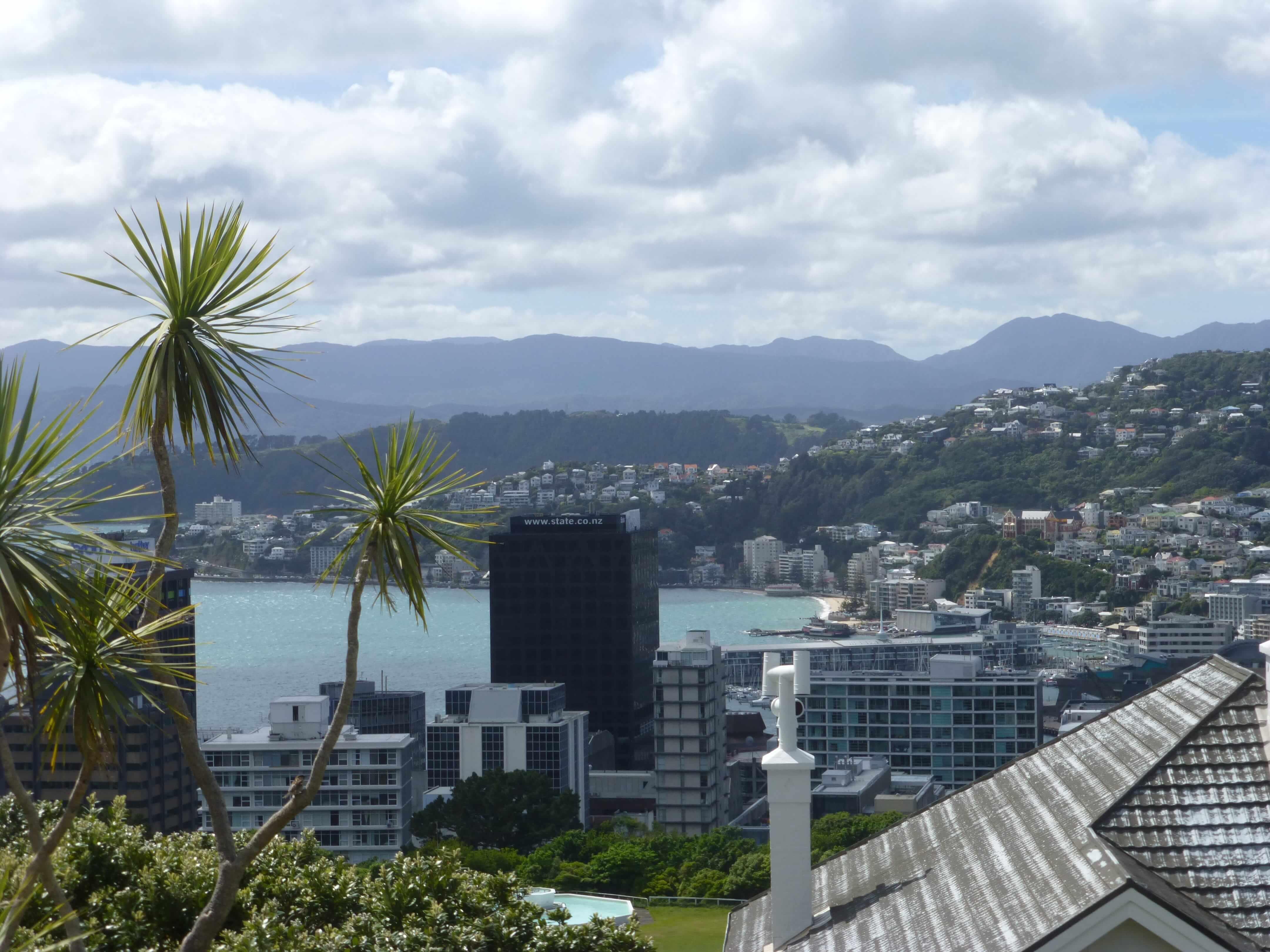 in Wellington an der Cable Car Station, Weit-weg.reisen 16