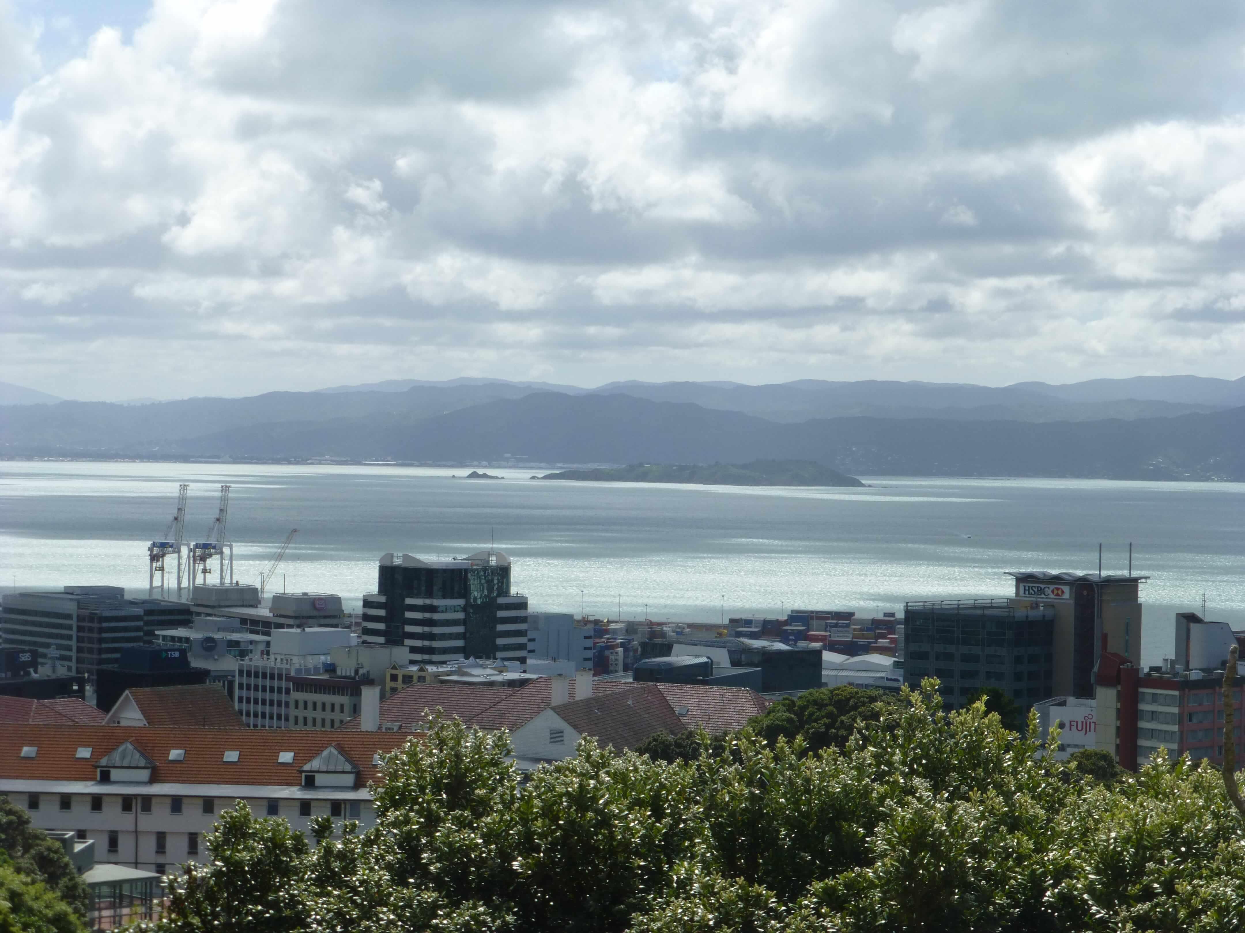 in Wellington an der Cable Car Station, Weit-weg.reisen 17