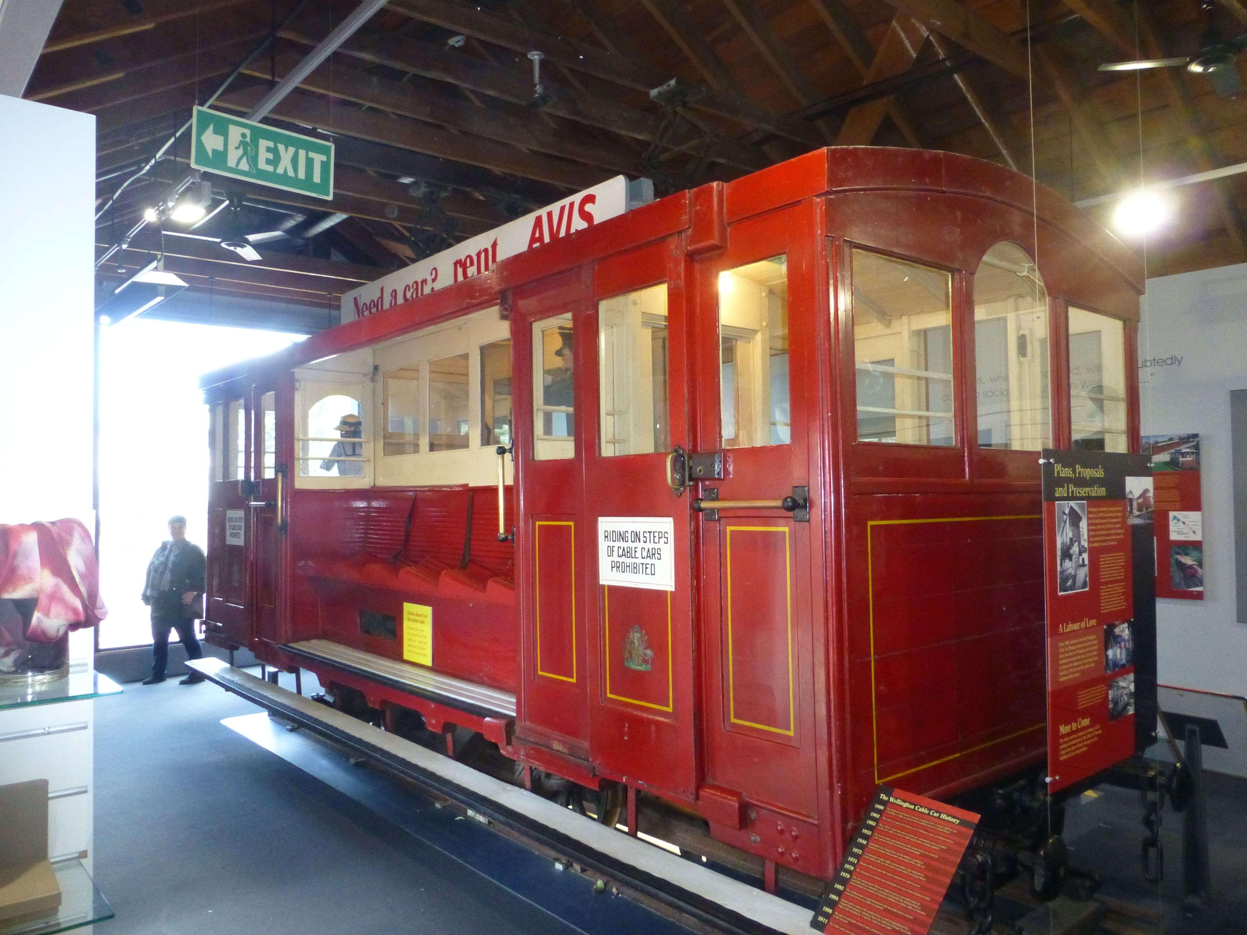 in Wellington im Cable Car Museum, Weit-weg.reisen 20