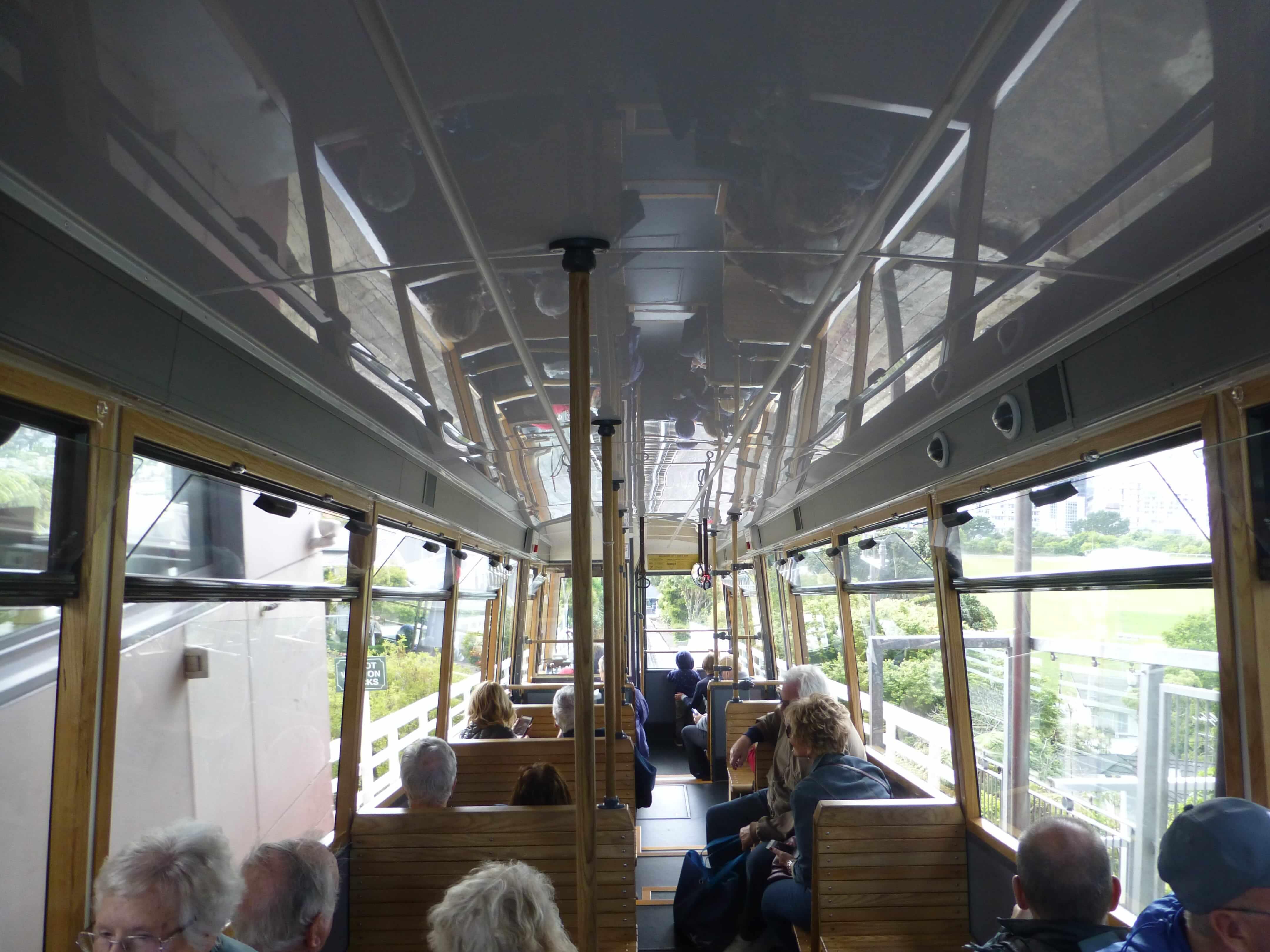 in Wellington in der Cable Car, Weit-weg.reisen 22