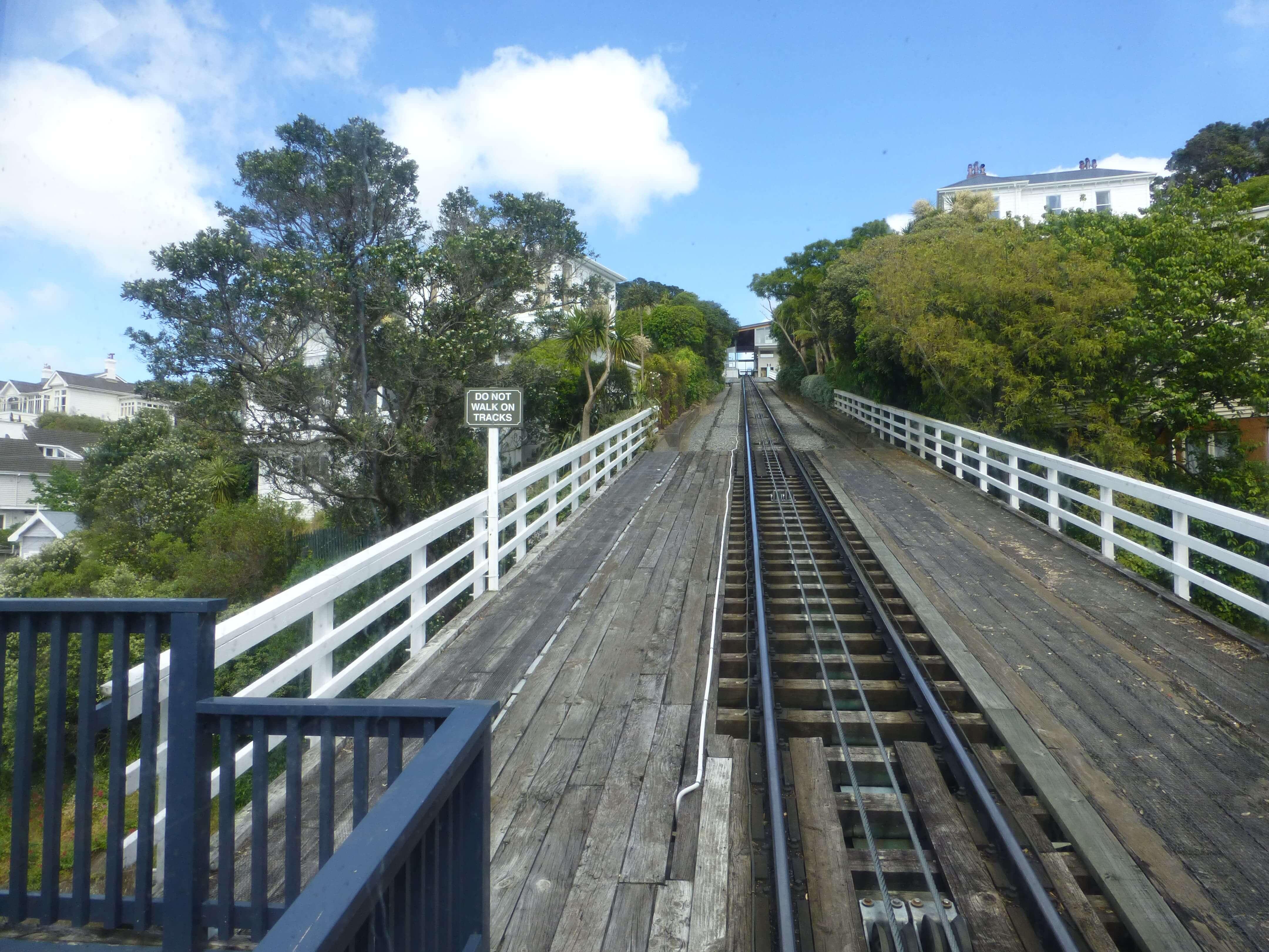 in Wellington in der Cable Car, Weit-weg.reisen 23