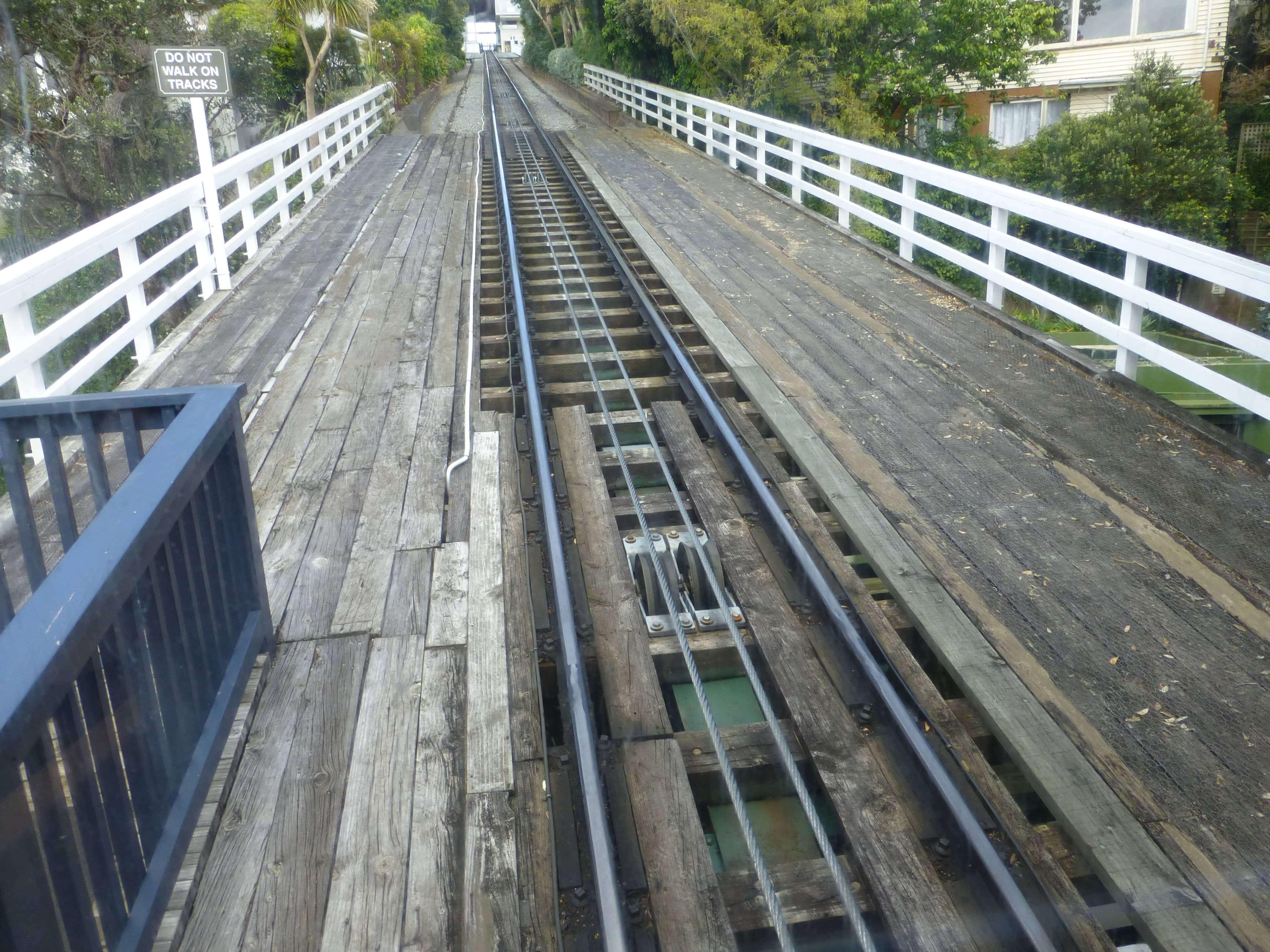 in Wellington in der Cable Car, Weit-weg.reisen 24