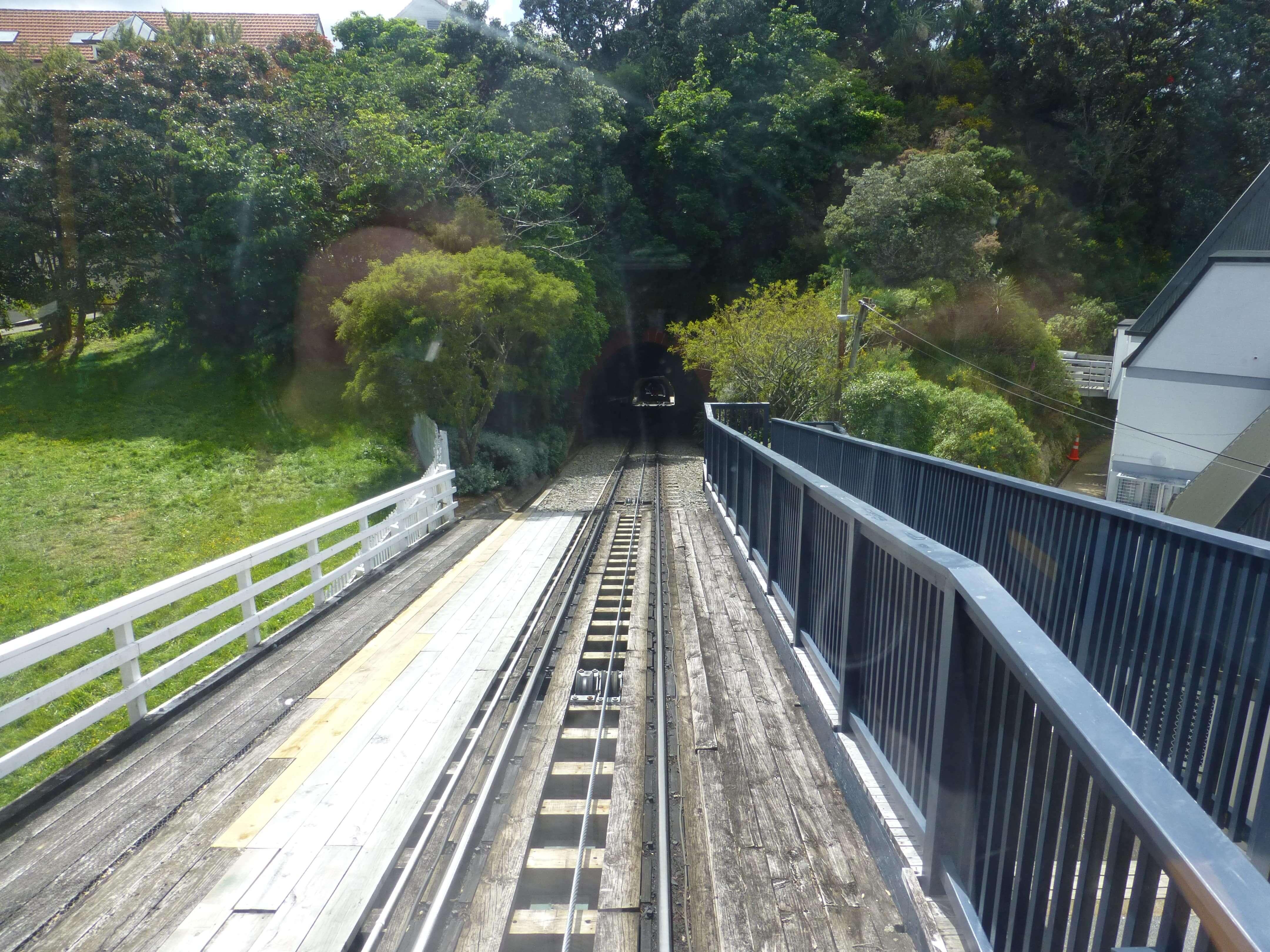 in Wellington in der Cable Car, Weit-weg.reisen 9