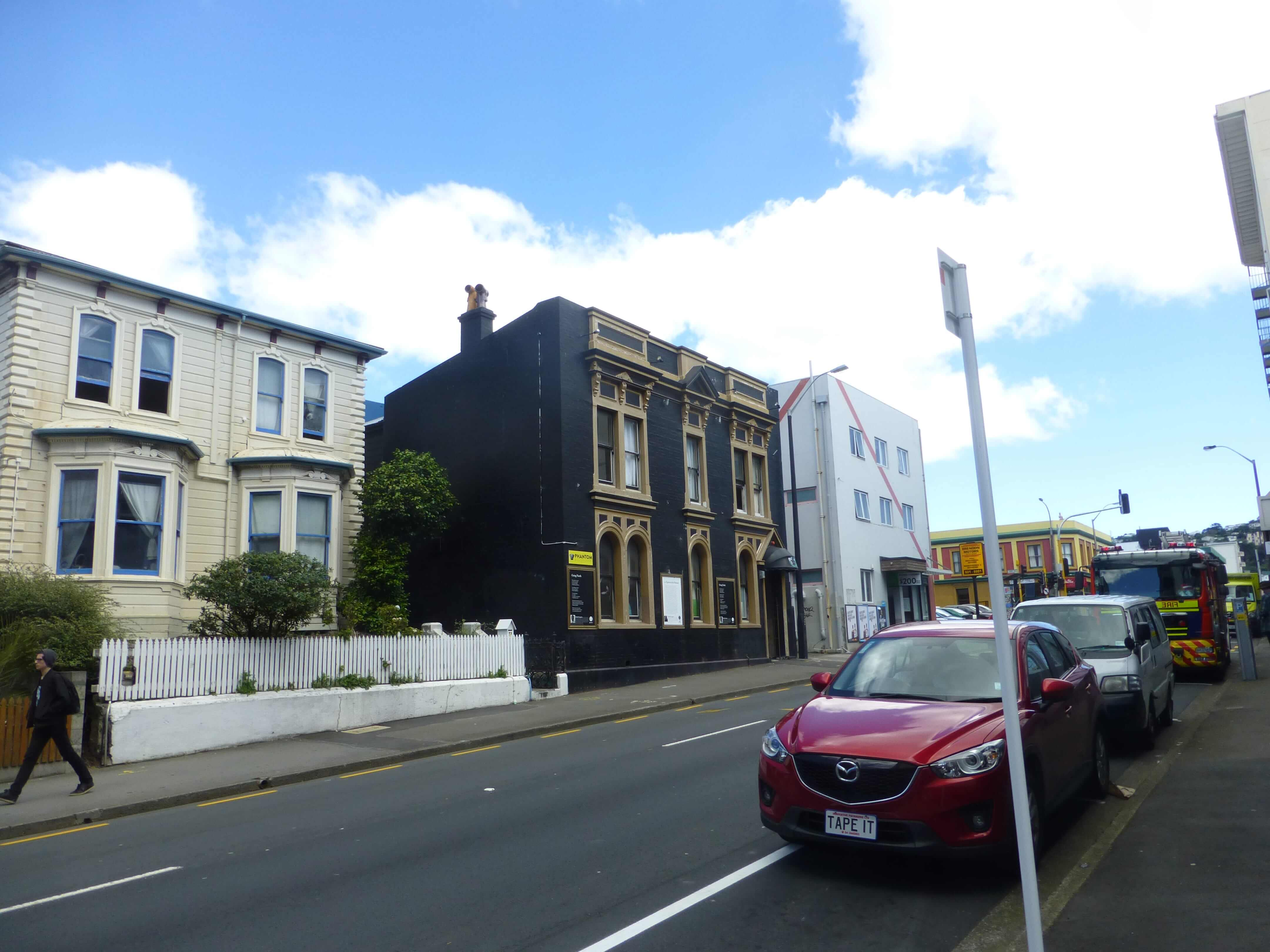 im Zentrum, Wellington, Neuseeland, Weit-weg.reisen 1