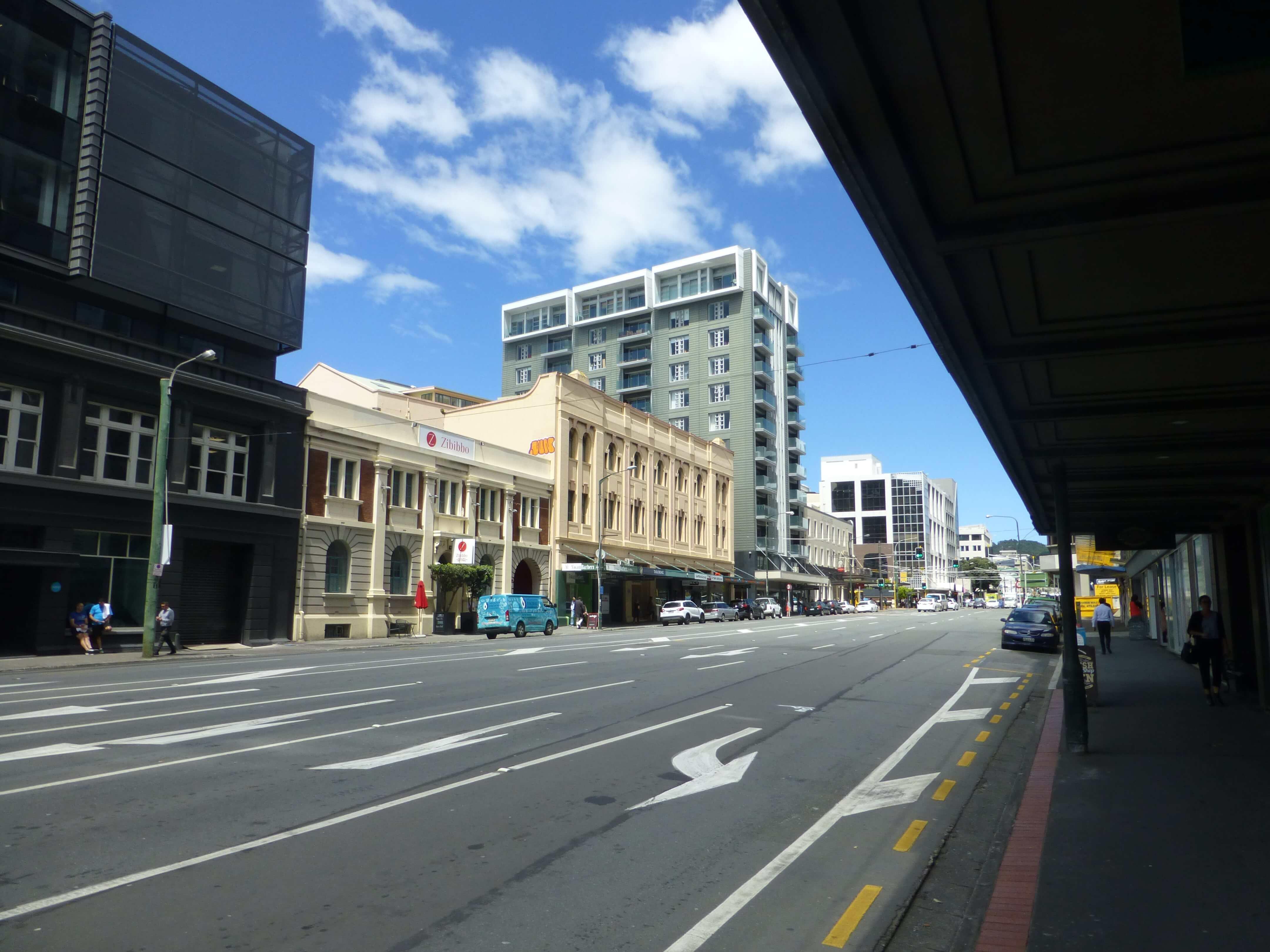 im Zentrum, Wellington, Neuseeland, Weit-weg.reisen 13