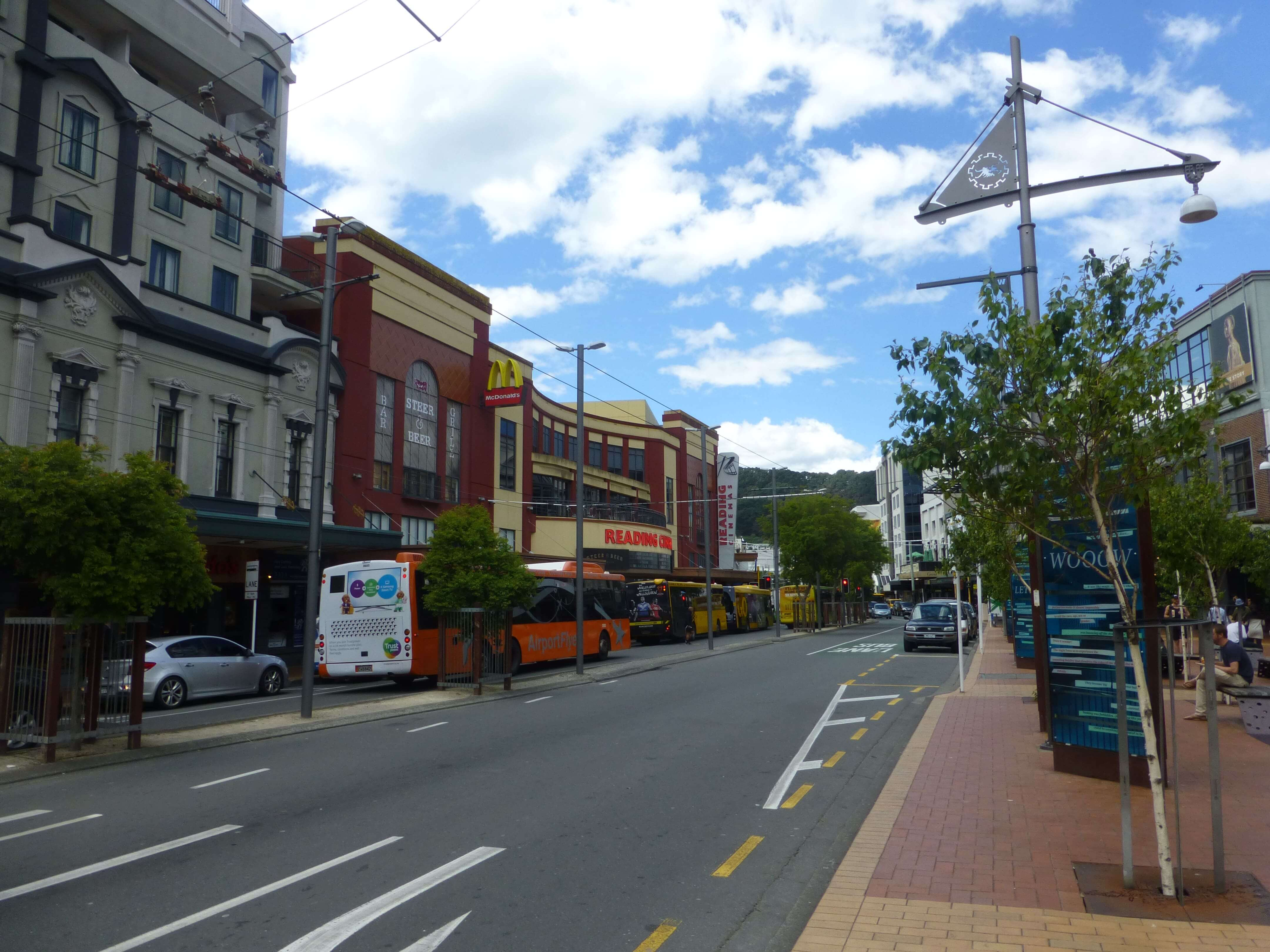 im Zentrum, Wellington, Neuseeland, Weit-weg.reisen 18