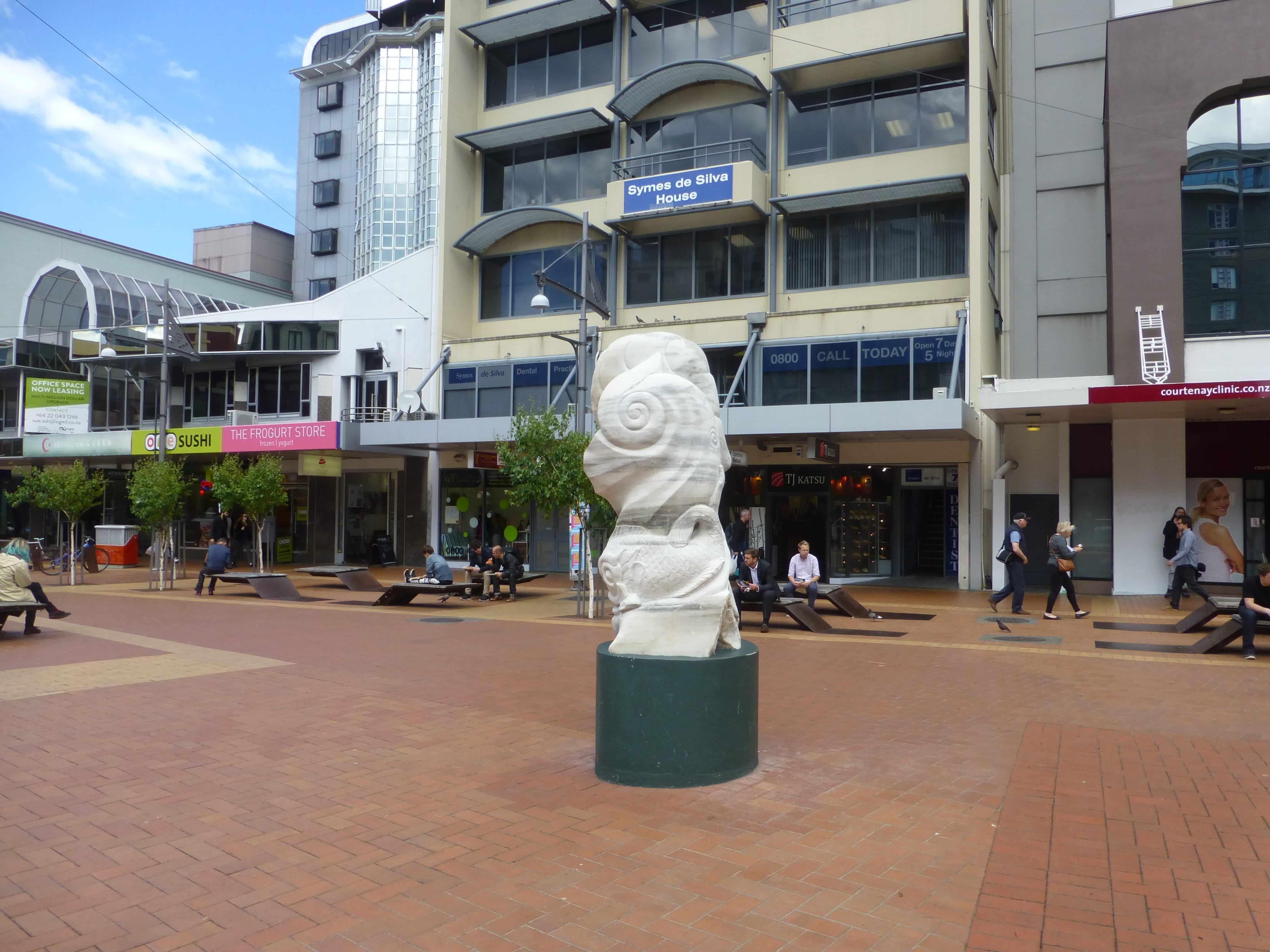 im Zentrum, Wellington, Neuseeland, Weit-weg.reisen 20