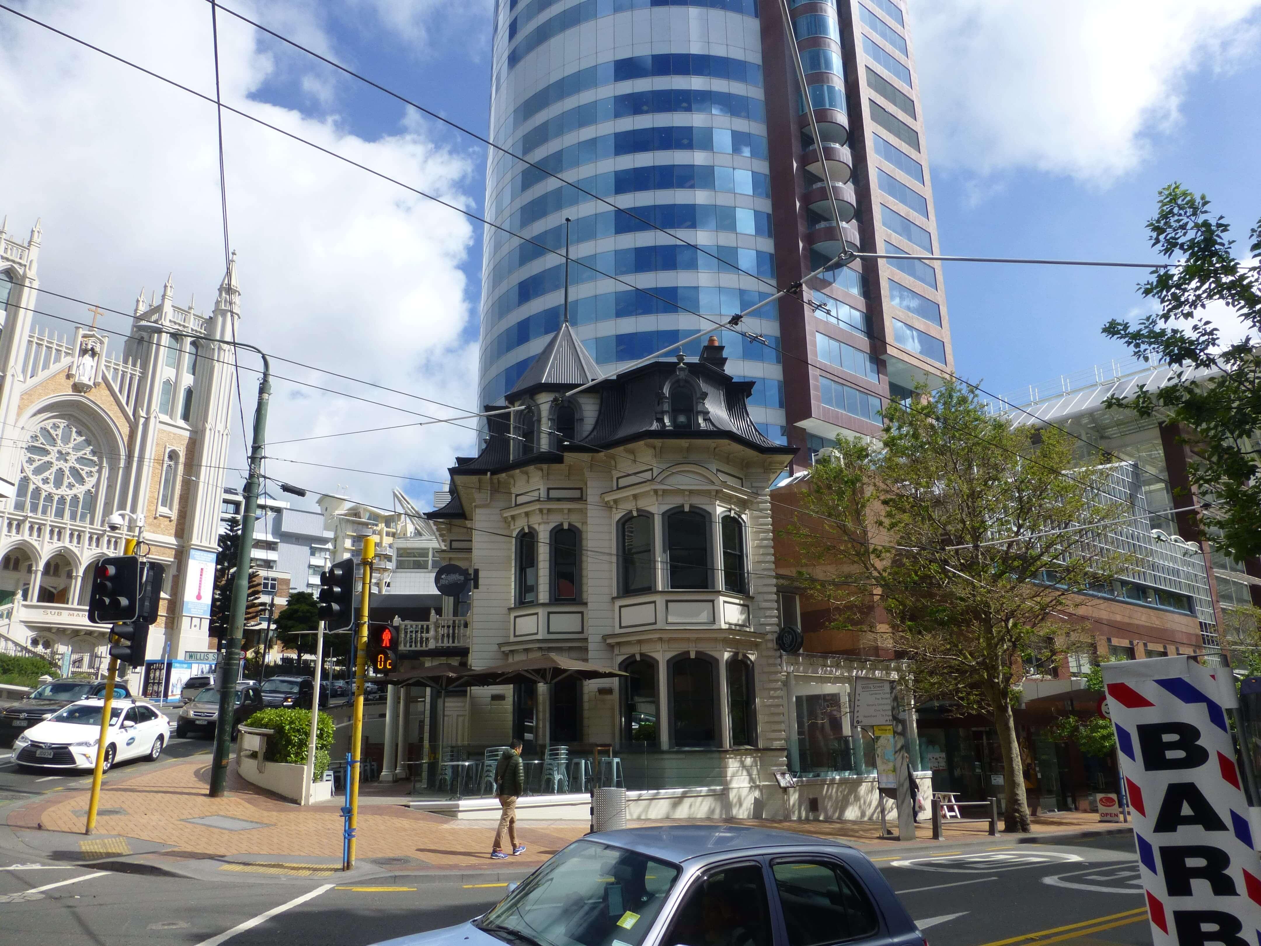 im Zentrum, Wellington, Neuseeland, Weit-weg.reisen 21