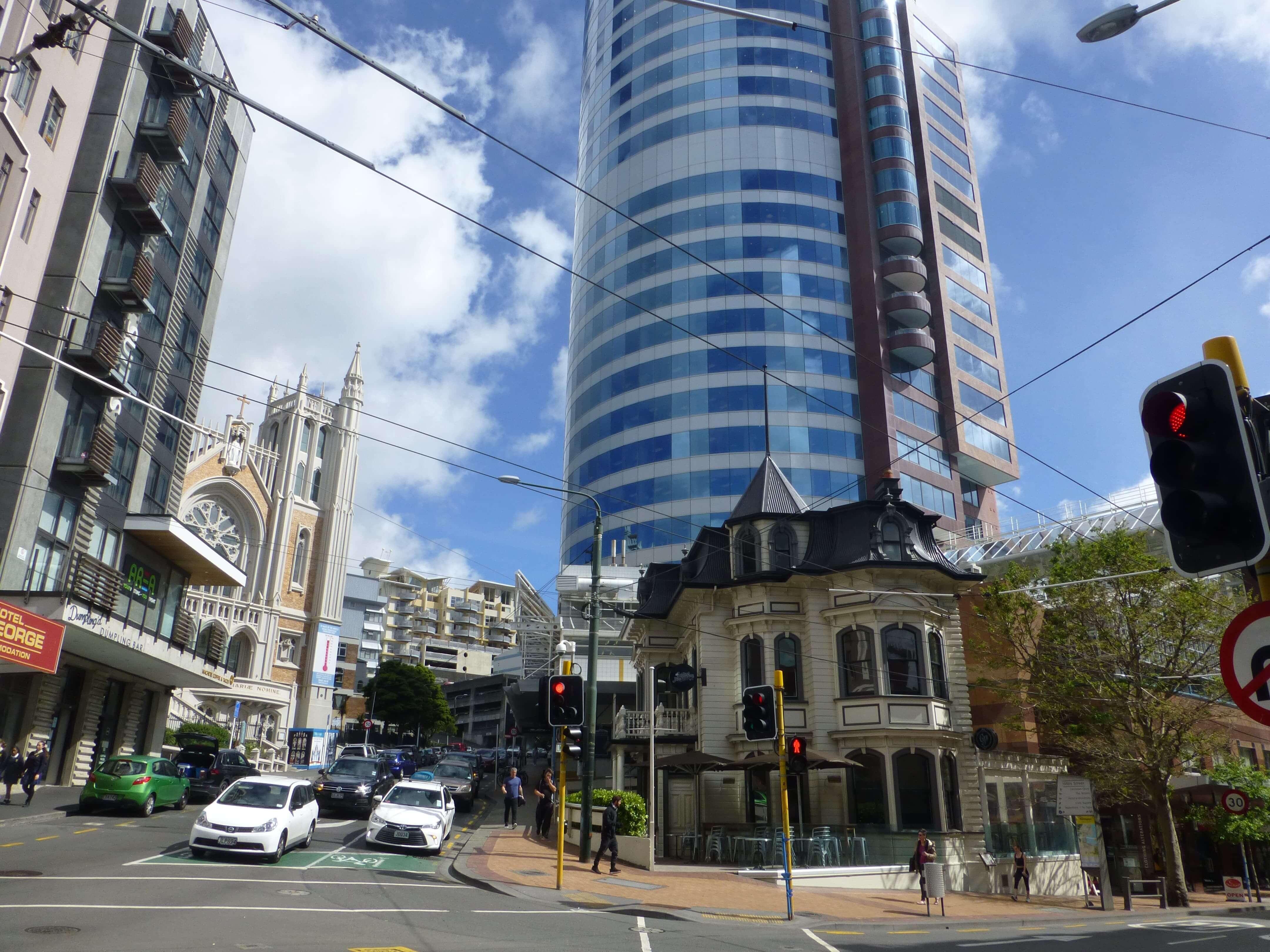im Zentrum, Wellington, Neuseeland, Weit-weg.reisen 22